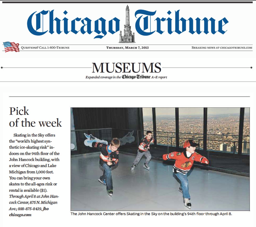 chicago tribune highly recommended - HD 1035×918