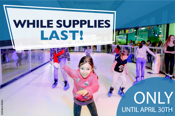 used synthetic ice rinks