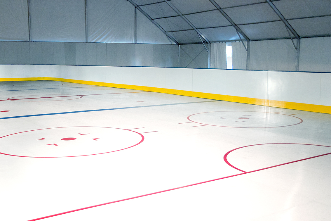 Patinoire synthétique hockey Xtraice
