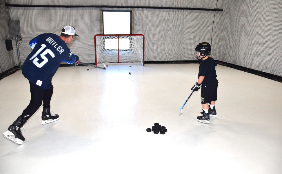 Home ice rink kits easy to install | DIY Home hockey rink