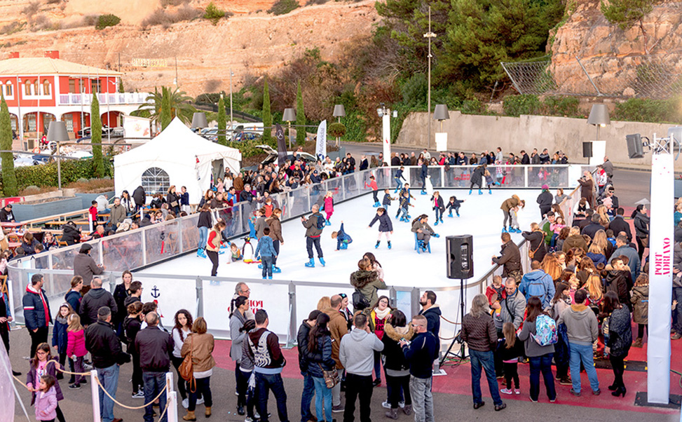 Xtraice Ice skating rink for sale