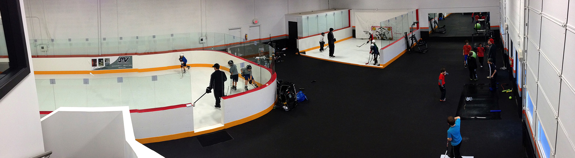 Xtraice Synthetic ice hockey rink